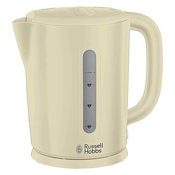 russell hobbs 21473 darwin 1 7l kettle cream homeware. Black Bedroom Furniture Sets. Home Design Ideas