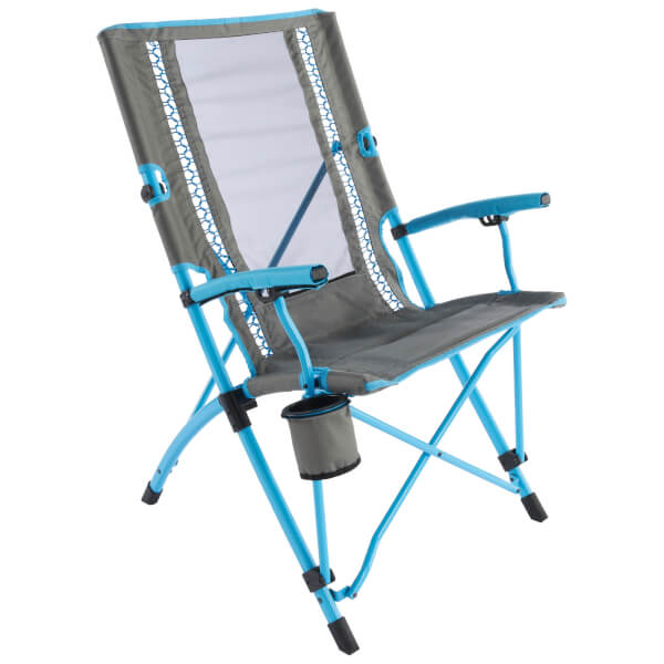 Chaise Pliable Bungee Interlock Coleman - Bleu