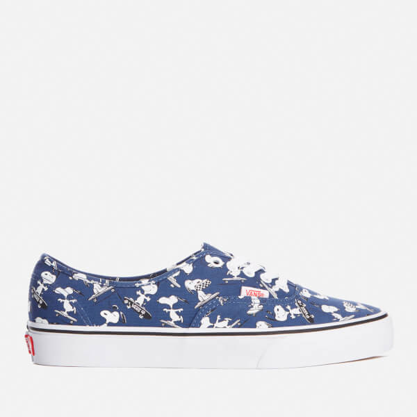 Vans X Peanuts Men's Authentic Trainers - Snoopy/Skating: Image 1