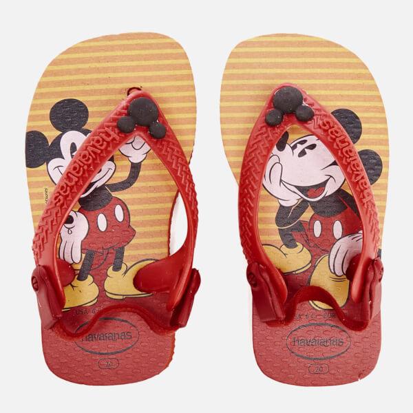 Havaianas Toddlers' Disney Classics Flip Flops - Red/Black