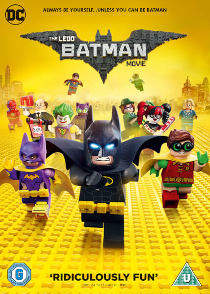 The Lego Batman Movie Dvd Zavvi