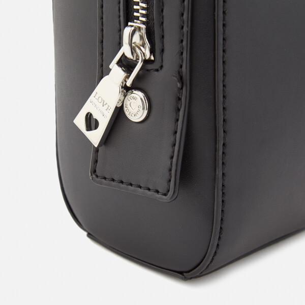 1564c571957da Love Moschino Women s Mirror Heart Camera Bag - Black  Image 6