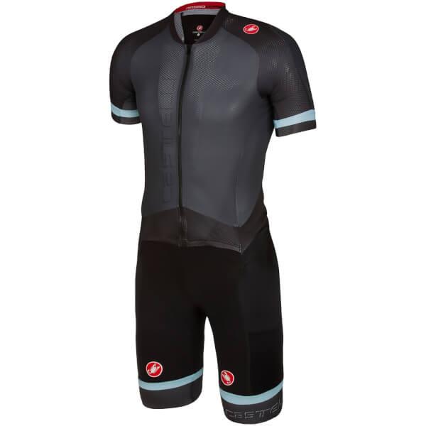 Castelli Sanremo 3.2 Speed Suit - Anthracite/Black: Image 01