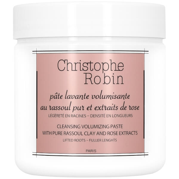 Christophe Robin Cleansing Volumising Paste with Pure Rassoul Clay and Rose Extracts 250ml