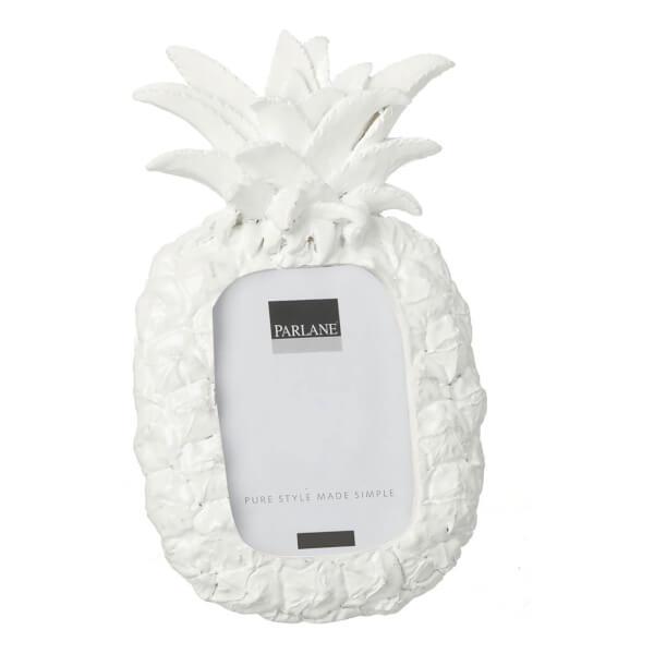Cadre Ananas Parlane Parlane - Blanc (17 x 10cm)