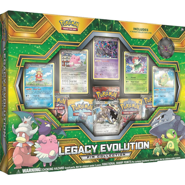 Pokemon TCG: Legacy Evolution Pin Collection