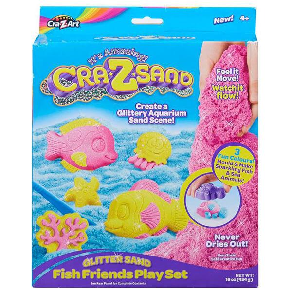 Cra-Z-Sand Glitter Fish Playset