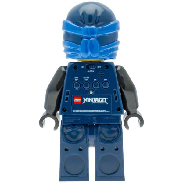 LEGO Ninjago: Time Twins Jay Minifigure Clock   Pop In A Box US