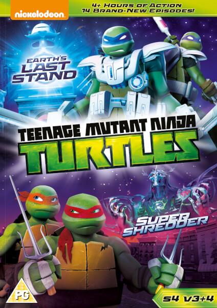Teenage Mutant Ninja Turtles: Earth's Last Stand & SuperShredder S4 V3&4