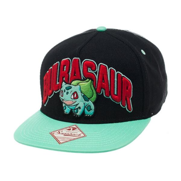 Casquette Bulbizarre Pokémon -Noir/Vert