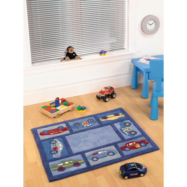 Flair Kiddy Play Rug - Racing Car Boy (80X100)