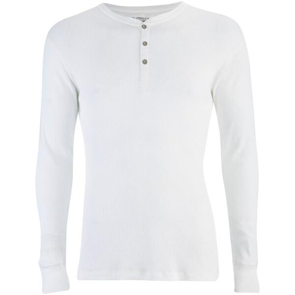 Levi's Men's Long Sleeve Grandad Top - White