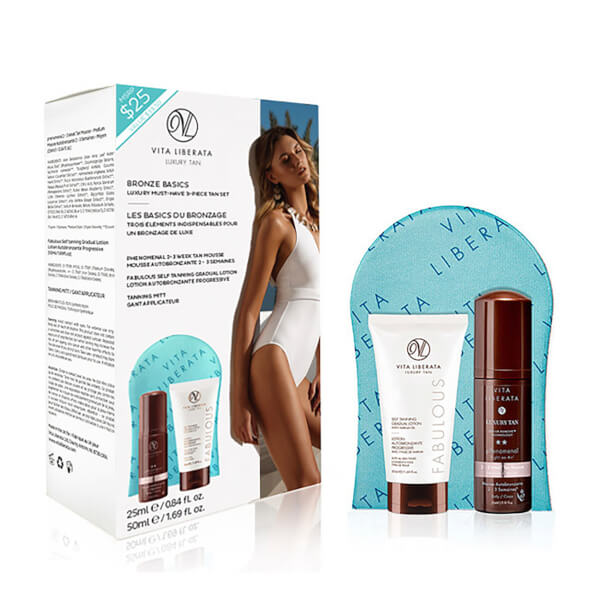Vita Liberata Bronze Basics Must Have Luxury 3 Piece Tan Set (Worth $33.50)