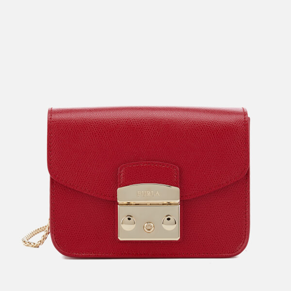 Furla Women's Metropolis Mini Cross Body Bag - Ruby
