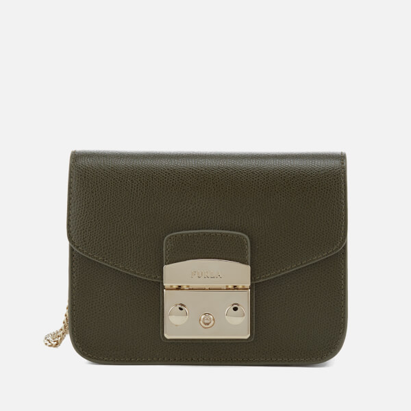 Furla Women's Metropolis Mini Cross Body Bag - Olive