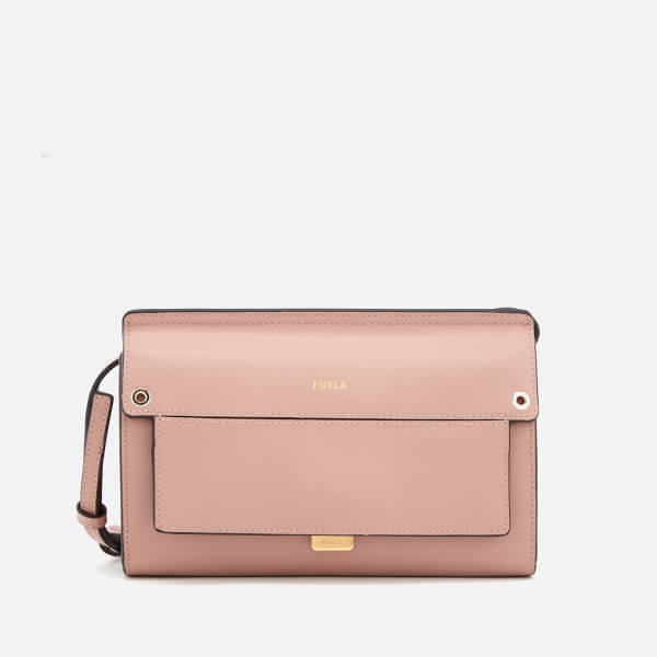 Furla Women's Like Mini Cross Body Bag - Nude