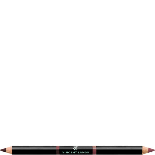 Vincent Longo Duo Lip Pencil 1.8g - Wine/Rosewood