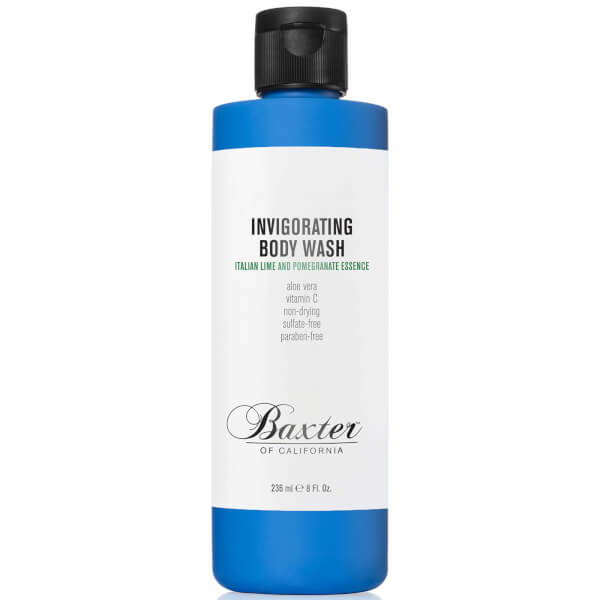 Baxter of California Invigorating Body Wash - Italian Lime & Pomegranate 8oz