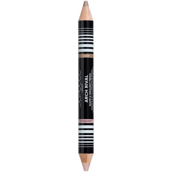 Lottie London Brow Pencil and Highlighter Duo - Light