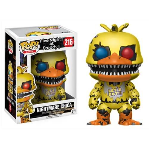Figurine Pop! Nightmare Chica Five Nights at Freddy's