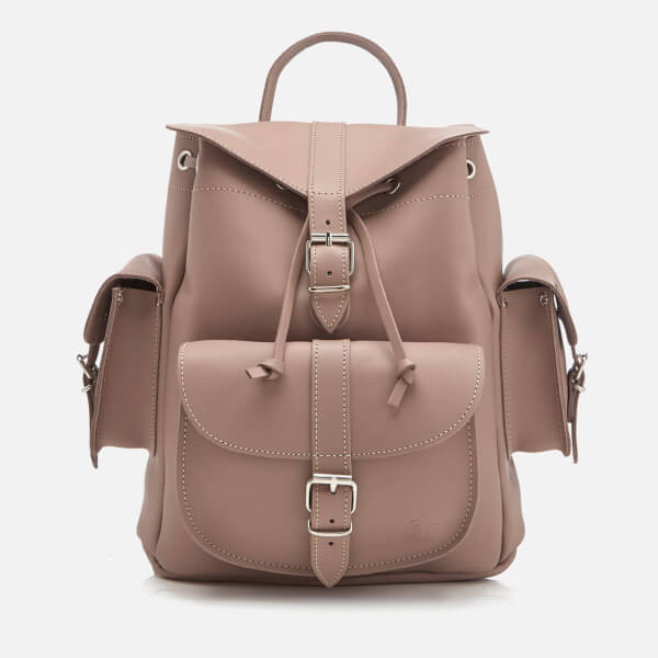 Grafea Women s Medium Leather Rucksack - Willow - Free UK Delivery ... 1858340e5