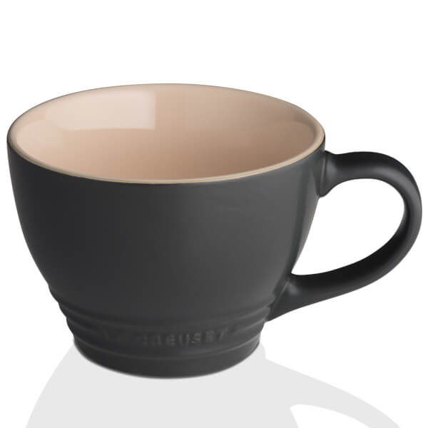 Le Creuset Stoneware Grand Mug 400ml - Satin Black