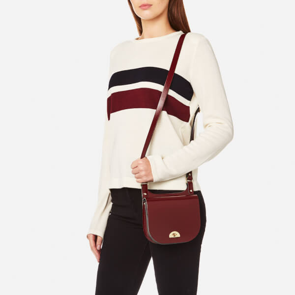 ce0454ae3e7c The Cambridge Satchel Company Women s Small Conductor s Bag - Oxblood  Patent  Image 3