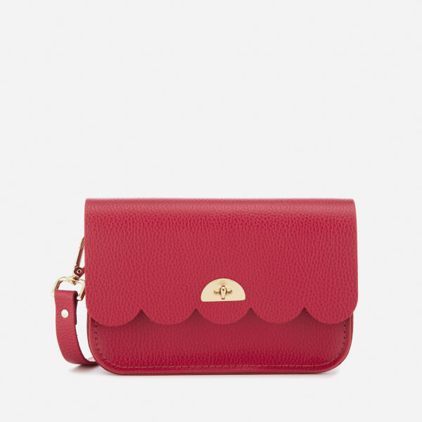 The Cambridge Satchel Company Women's Small Cloud Bag - Crimson Celtic Grain