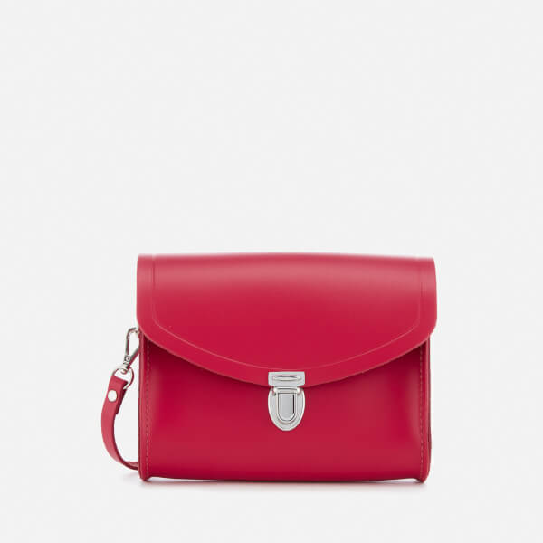 The Cambridge Satchel Company Women's Push Lock Bag - Crimson