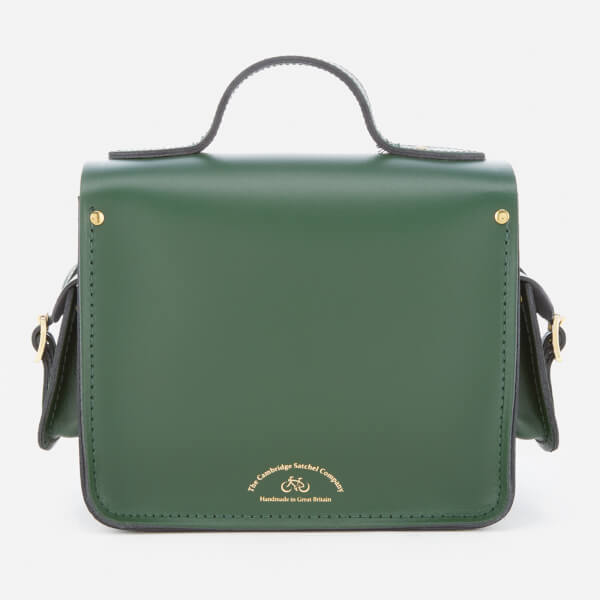 a24aad9c52ab6 The Cambridge Satchel Company Women s Traveller Bag with Side Pockets -  Racing Green  Image 2