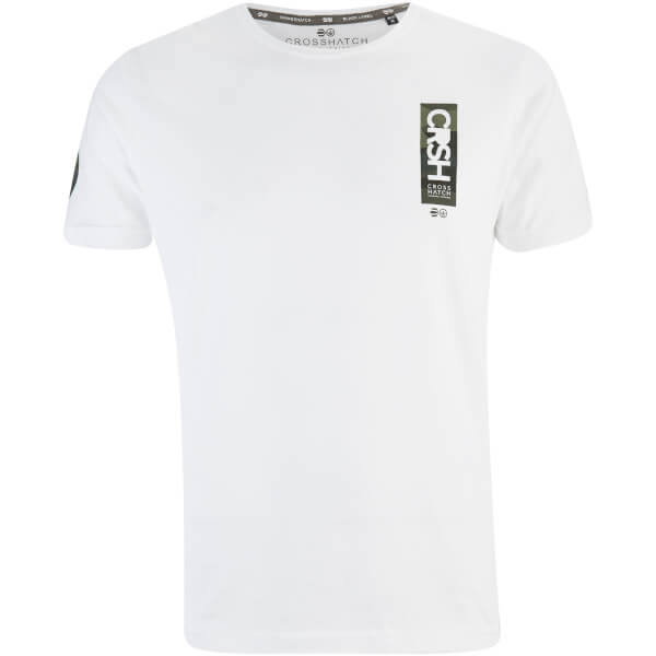 Crosshatch Men's Markab T-Shirt - White