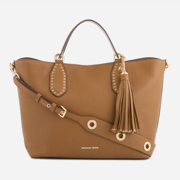 MICHAEL MICHAEL KORS Women's Brooklyn Large Grab Bag - Luggage