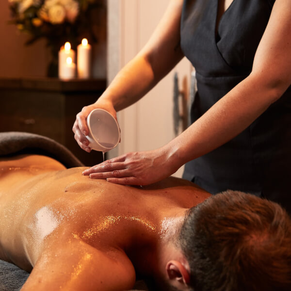 Massage Therapies - Hot Lava Shell Face and Body Ritual