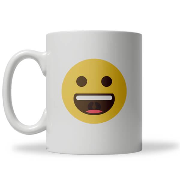 Wide Smile Emoji Mug