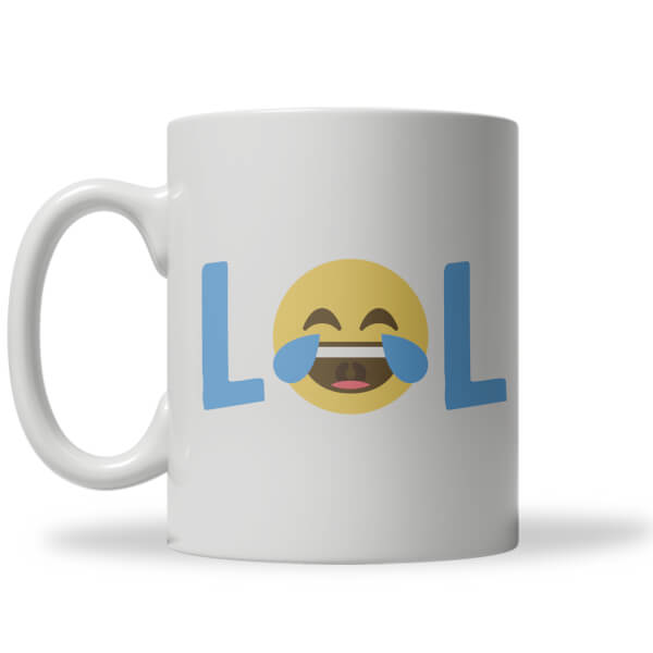 Tasse Emoji Lol Smiley