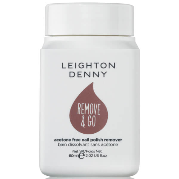 Leighton Denny Remove and Go Polish Remover - White Grape and Rose 60ml