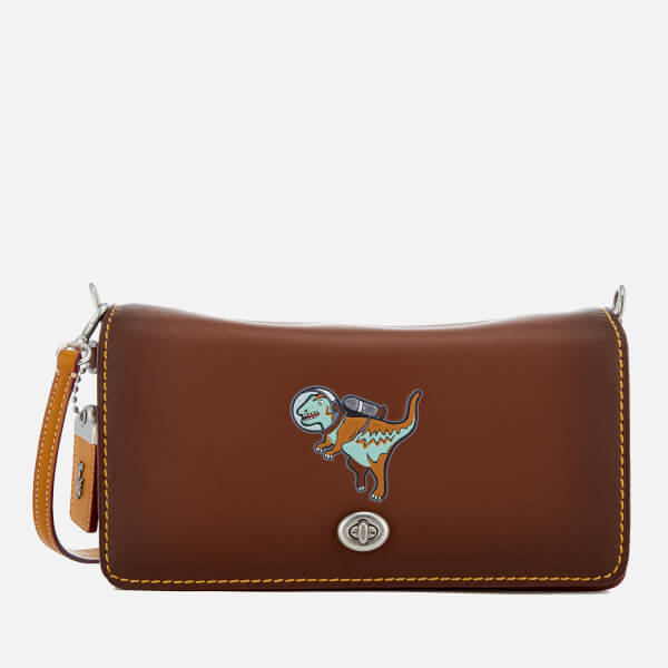 Coach 1941 Women's Embossed Rexy Dinky Bag - Saddle