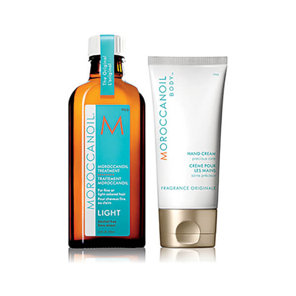 Moroccanoil Treatment Light 125ml (25% Extra Free) with FREE Moroccanoil Hand Cream 75ml (Worth £52.85): Image 11