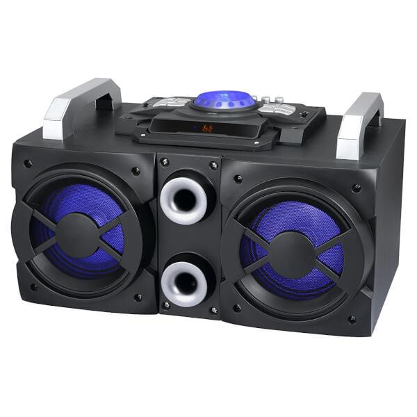 Akai 200W Ultimate Party Bluetooth Speaker (Includes Karaoke Microphone) - Black