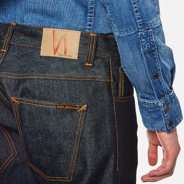 393e996fdf097 Nudie Jeans Men s Dude Dan Jeans - Dry Classic Navy Mens Clothing ...