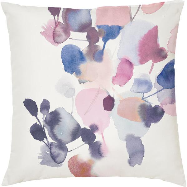 Pastel Watercolour Cushion - Multi (45 x 45cm)