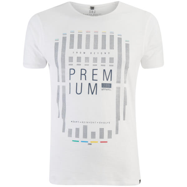 T-Shirt Homme Cavalieri Smith & Jones -Blanc