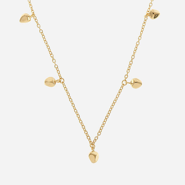 Missoma Women's Gold Long Nugget Necklace - Gold