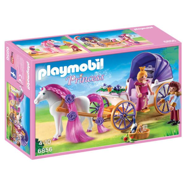 Calèche royale avec cheval à coiffer -Playmobil (6856)