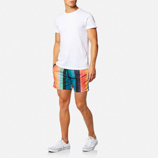 e4483a0d21 Paul Smith Men's Classic Artist Stripe Swim Shorts - Multi: Image 3