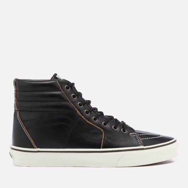 Vans Men's Sk8-Hi Ground Breaker Hi-Top Trainers - Black/Marshmallow