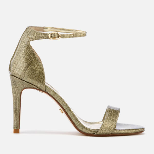 Dune Women's Mortimer Barely There Heeled Sandals - Gold
