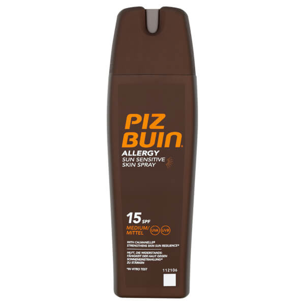 Piz Buin Allergy Sun Sensitive Skin Spray - Medium SPF15 200ml