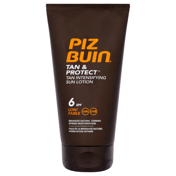 Piz Buin Tan & Protect Tan Intensifying Sun Lotion - Low SPF6 150ml