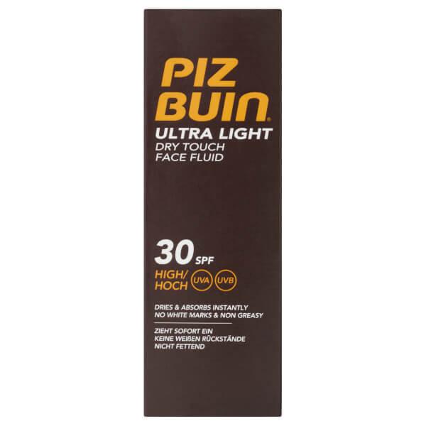 Piz Buin Ultra Light Dry Touch Face Fluid - High SPF30 50ml